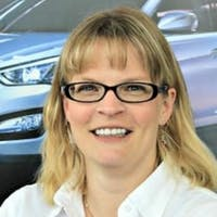 Mandy McFadden at Lauria Hyundai
