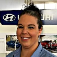 Stephanie  Gill at Lauria Hyundai