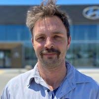 Corey Brobbel at Lauria Hyundai