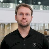 Kevin  Lunter at Mercedes-Benz London