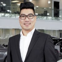 Tony Yang at Mercedes-Benz London