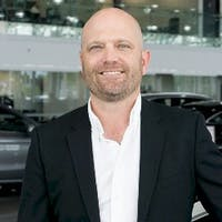 Rob Stockie at Mercedes-Benz London