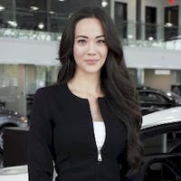 Kristina Wong at Mercedes-Benz London
