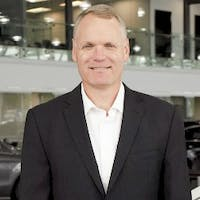 Mike Robinson at Mercedes-Benz London