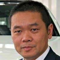 Bill Zheng at Mercedes-Benz Newmarket