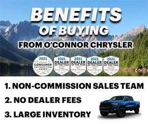 O'Connor Dodge Chrysler Jeep RAM, Chilliwack, BC, V2P 6J1