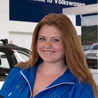 Desiree Williams at Grande Prairie Volkswagen