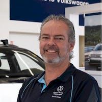 Brad  Larson at Grande Prairie Volkswagen