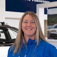 Kari Lavers at Grande Prairie Volkswagen