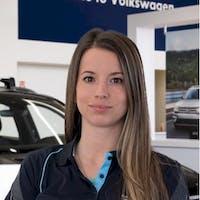 Kaitlyn  Rogers at Grande Prairie Volkswagen