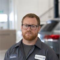 Sebastian Sceerey at Grande Prairie Volkswagen
