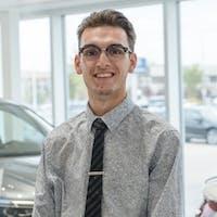 Nathan  Wheeler at Grande Prairie Volkswagen