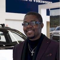 Michael  Adewunmi at Grande Prairie Volkswagen