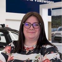 Ashley  Demler at Grande Prairie Volkswagen