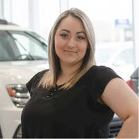 Madison Stoddart at Grande Prairie Volkswagen