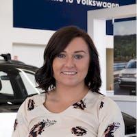 Jessi-Mae Mundt  at Grande Prairie Volkswagen