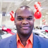 Kheneil Black at Pickering Toyota