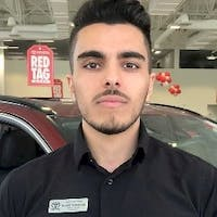 Naveed  Marasoulli at Pickering Toyota