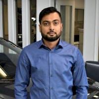 Saad Saleem at Auto Gallery Subaru