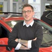 Christian  Wilde at Auto Gallery Subaru