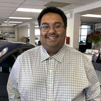 Roland Kumar at Kia Richmond
