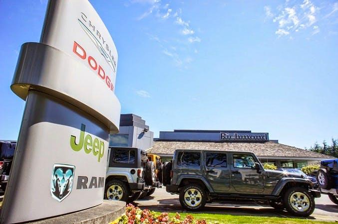 Richmond Chrysler Dodge Jeep Ltd., Richmond, BC, V6V 2M9