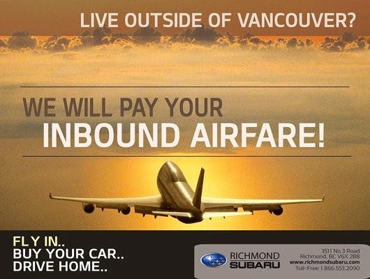 Richmond Subaru, Richmond, BC, V6X 2B8