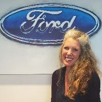 Julie Browers at Colonial Ford