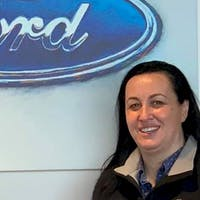 Veronica Swan at Colonial Ford