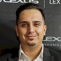 Zafer Sharifi at Lexus On The Park