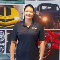 Jackie  Deterra  at Colonial South Chevrolet