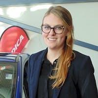 Alexanne  Bouchard-Gagne at Subaru of Calgary