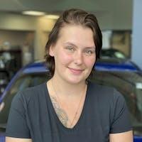 Sabrina  Whalen at Subaru of Calgary