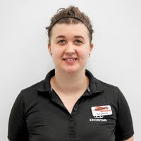 Nychelle Mesenchuk at Bannister Honda Service & Car Sales