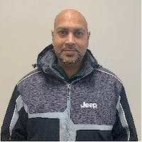 Amory Ramroop at Unique Chrysler Dodge Jeep Ram