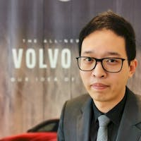 Carson Zhang at Volvo of Unionville