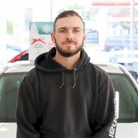 Jordan Chamberlain at Whitby Oshawa Honda