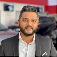 Aj Aimaq at Whitby Toyota