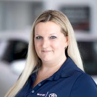 Amanda Moore at Whitby Toyota - Service Centre