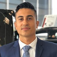Chris Mortazavi at Wilson Niblett Motors