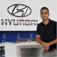 David Halliday at Winnipeg Hyundai