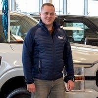 Erik Leitheiser at Zender Ford