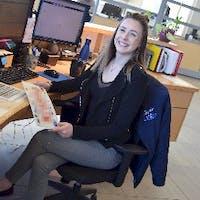 Jessi MacElheren at Zender Ford  - Service Centre