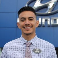 Aaron Soto at Harbor Hyundai