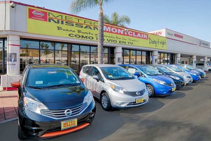 Metro Nissan of Montclair, Montclair, CA, 91763