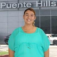 Caroline  Godina at Puente Hills Nissan