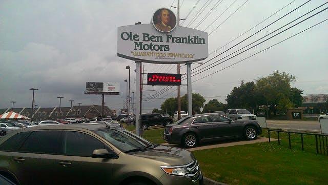 Ole Ben Franklin Motors, Knoxville, TN, 37922