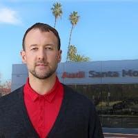 Derek Rudolph at Santa Monica Audi