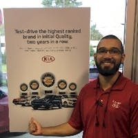 Anthony  Castro at Savage Kia