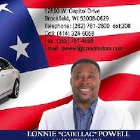 Lonnie Powell at Crest Cadillac